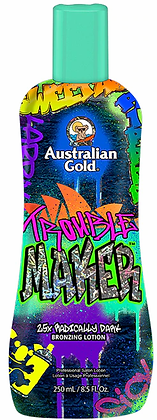Australian Gold Trouble Maker 25X Radically Dark Tanning Lotion 8.5 oz