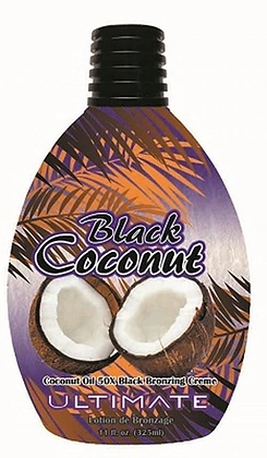 Ultimate Black Coconut Tanning Lotion 11 oz