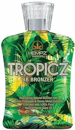 Hempz Tropicz BB Natural Bronzer Tanning Lotion 13.5 oz