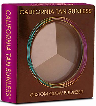 California Tan Custom Glow Bronzing Powder Step 3 Size .28 oz