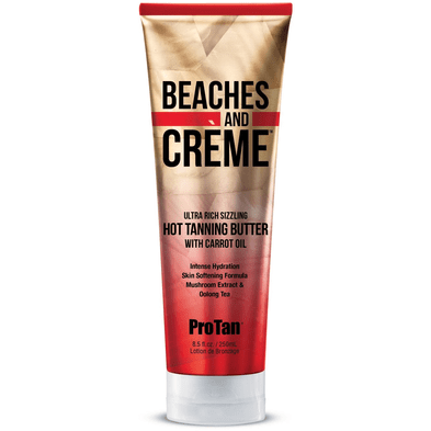 ProTan Beaches & Crème Sizzling Butter with Carrot Oil 8.5oz