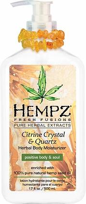 Hempz Citrine Crystal & Quartz Moisturizer