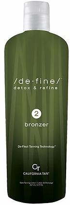 California Tan De Fine Bronzer Step 2 Tanning Lotion 8 oz