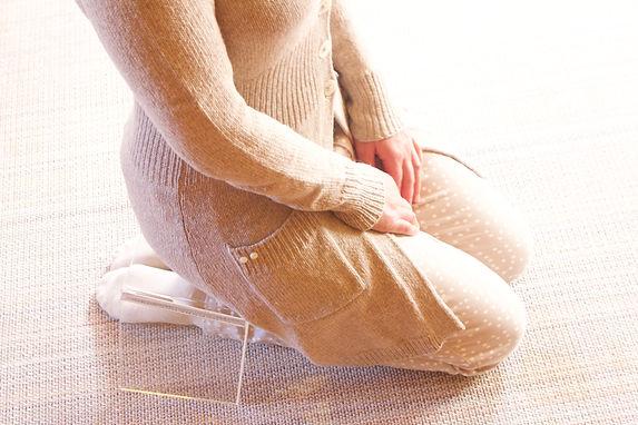 Knien, beten
