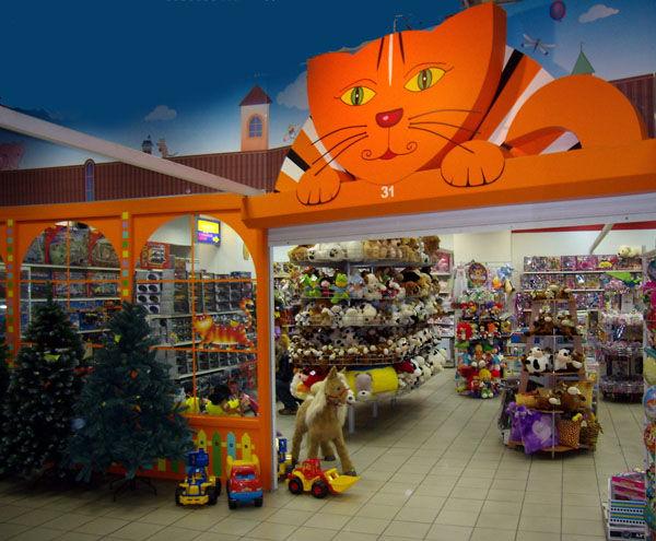 Alt-детский магазин под ключ, оборудование и стеллажи во Владимире.