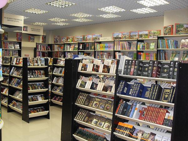 Alt-стелажи для книжного магазина Владимир, оборудование для книжного магазина.