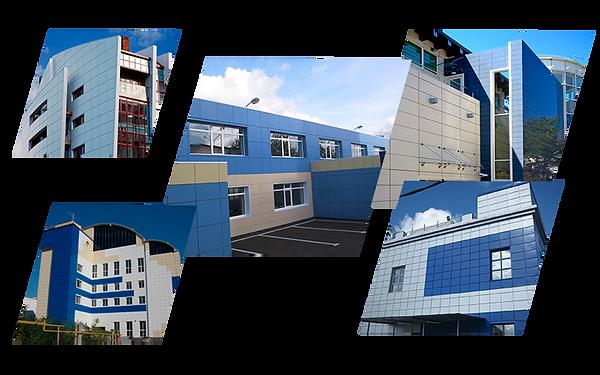 Alt-композитные панели и вентилируемые фасады во Владимире и области.