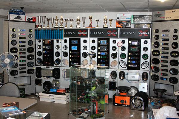 Alt-Оборудование для магазина автозвука, магазин автомагнитол для во Владимире оборудование.