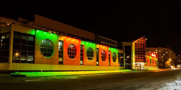Alt-подсветка магазина. подсветка здания, моста, сооружения во Владимире и области.