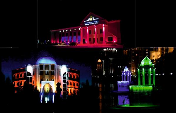 Alt-архитектурная подсветка, подсветка фасадов во Владимире и области. Подсветка зданий и сооржений.