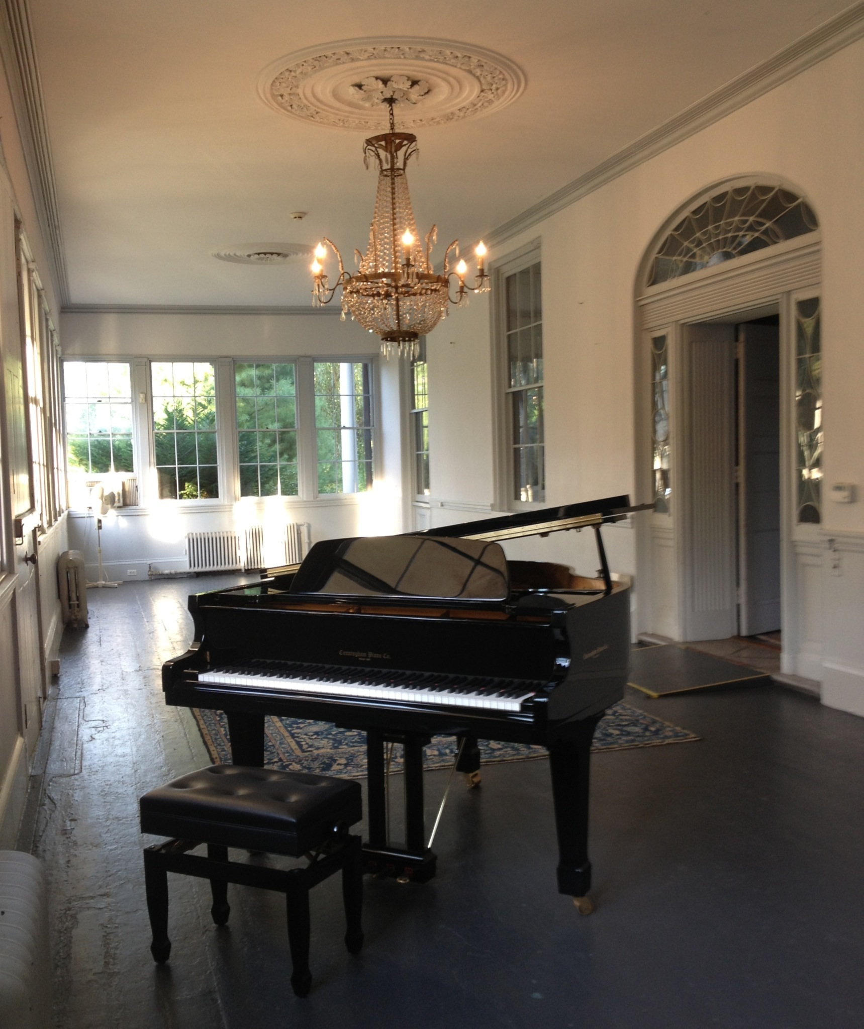 Baby Grand Piano in Veranda 2015