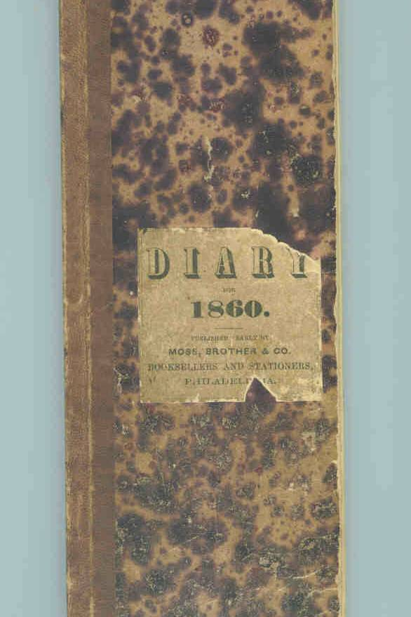1860 Sheaff Journal