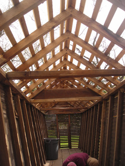 Corn Crib Interior