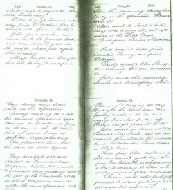 Sheaff 1860 Journal (B)