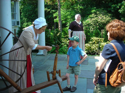 Ruth Konrad & Visitor 2