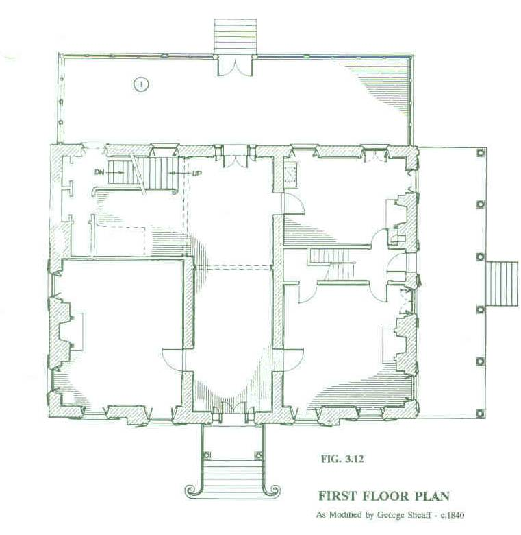 George Sheaff 1st Floorplan