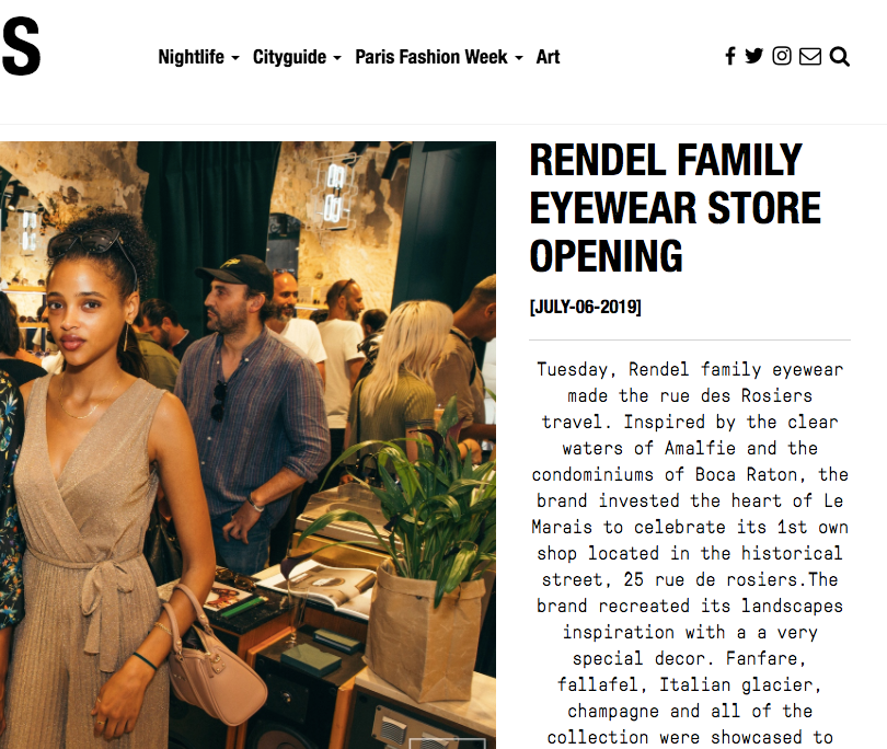 Rendel Opening Store