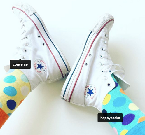 Happy Socks and Converse