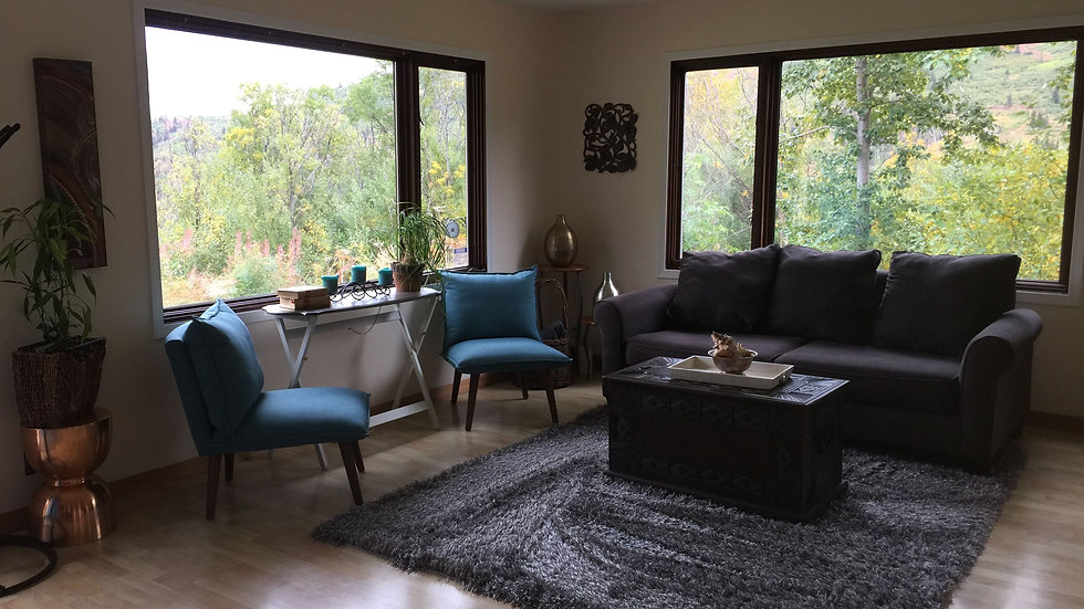 Stage Living, Dining, Master Bed and Bath, Kitchen