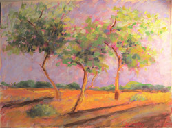 sunset - pastel
