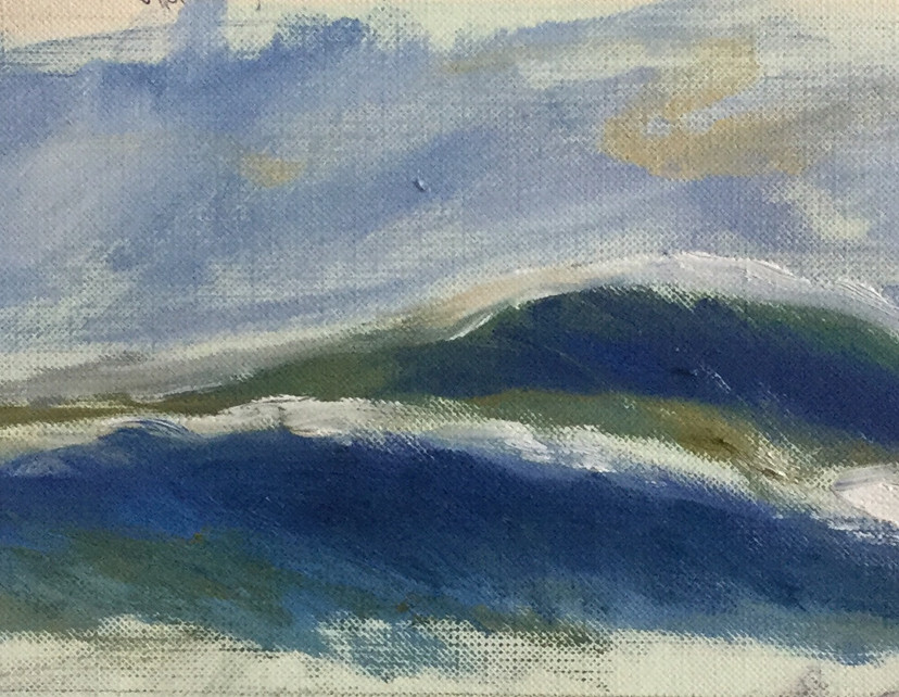 ocean study 1