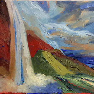 "8 x 10"" oil on canvas"
