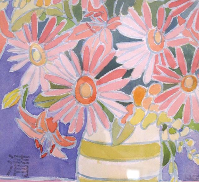 gerbera daisies in vase
