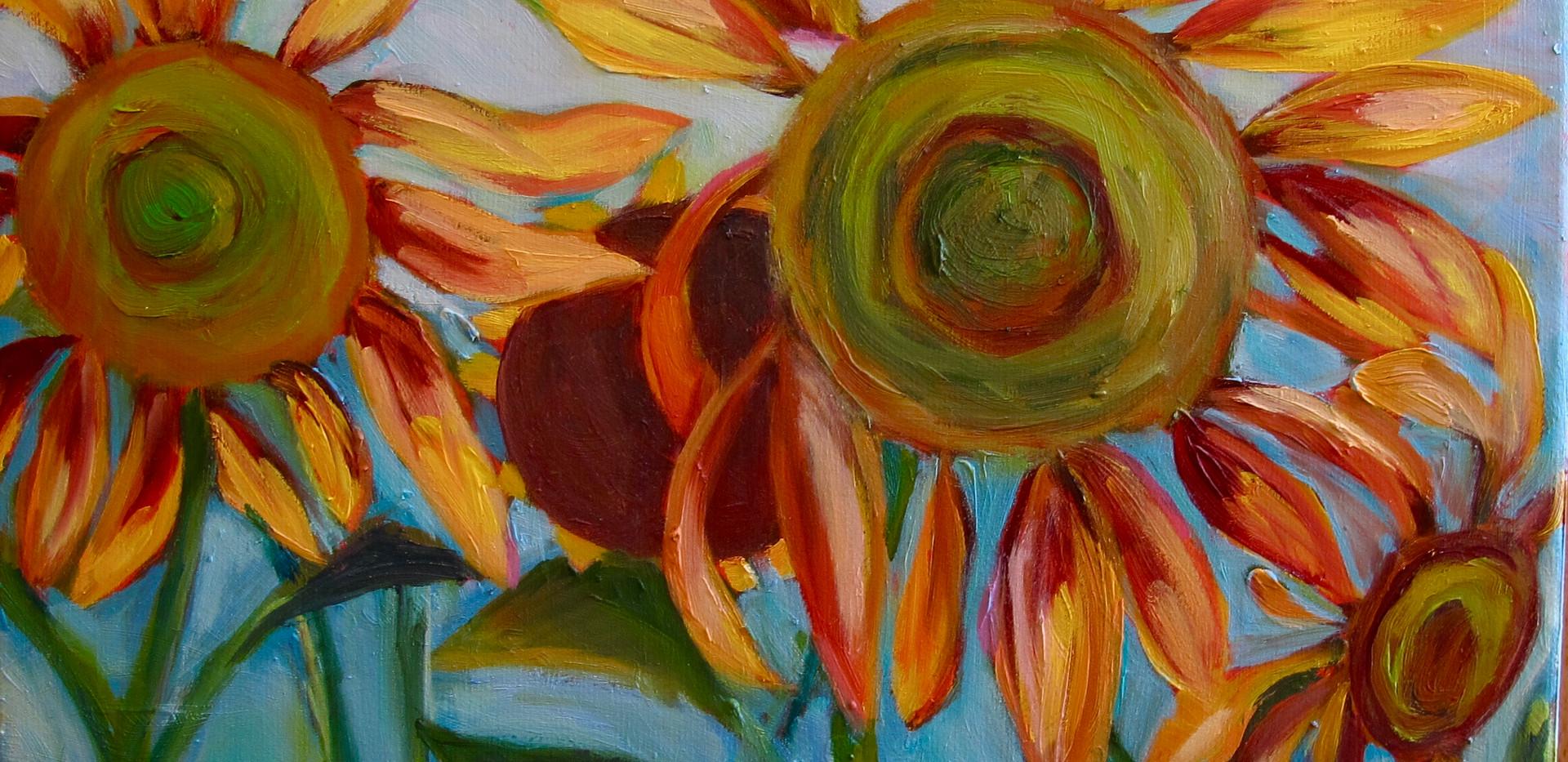 sunflower: it's a good day