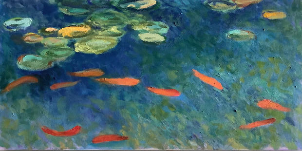 Goldfish and Lilypond.jpeg