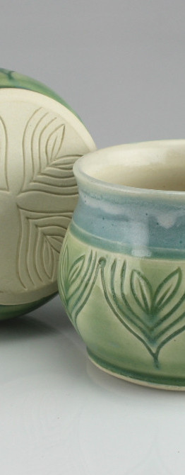 sprout bluegreen mugs