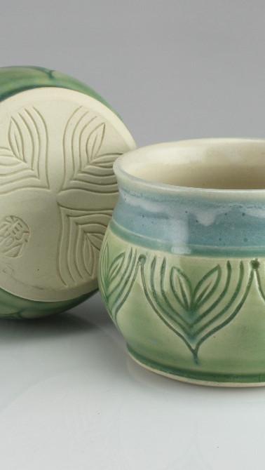 sprout bluegreen mugs