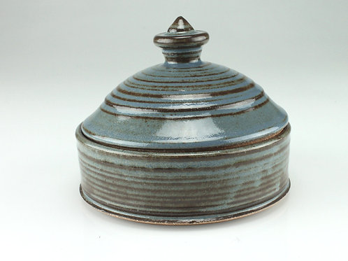Lidded jar, keepsake - jewelry