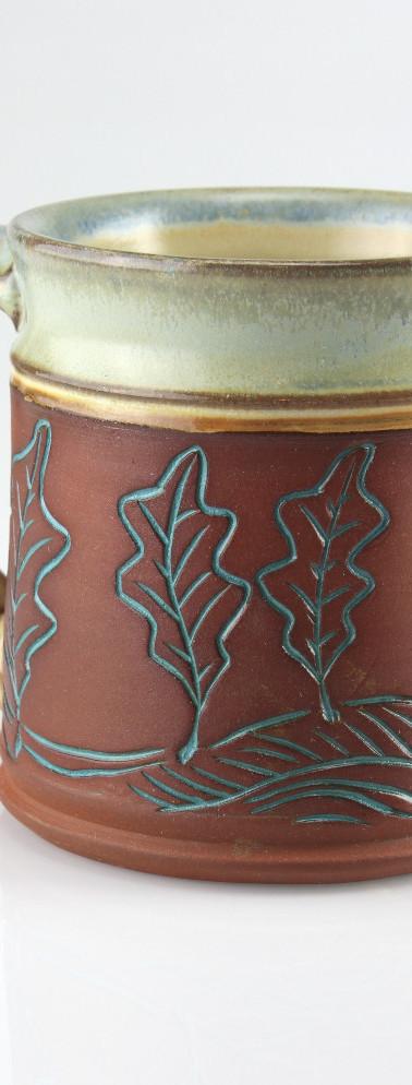 leaf-tree mug