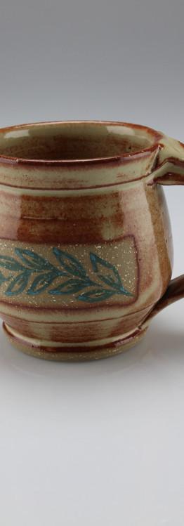 blue vine mug