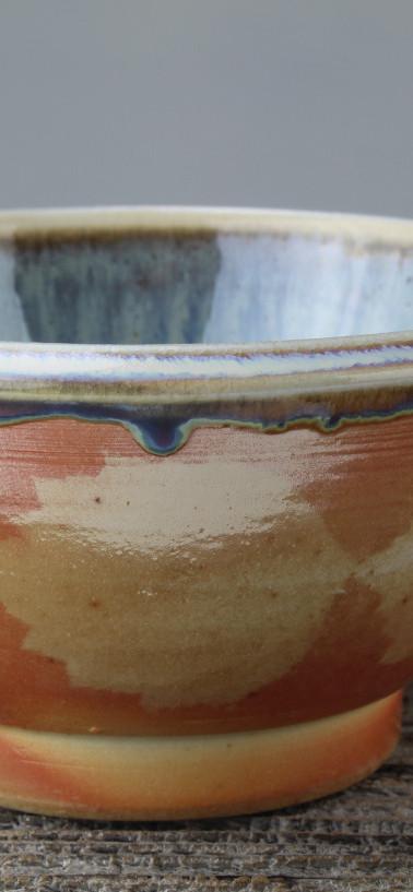 hawthorn bowl - wood fired