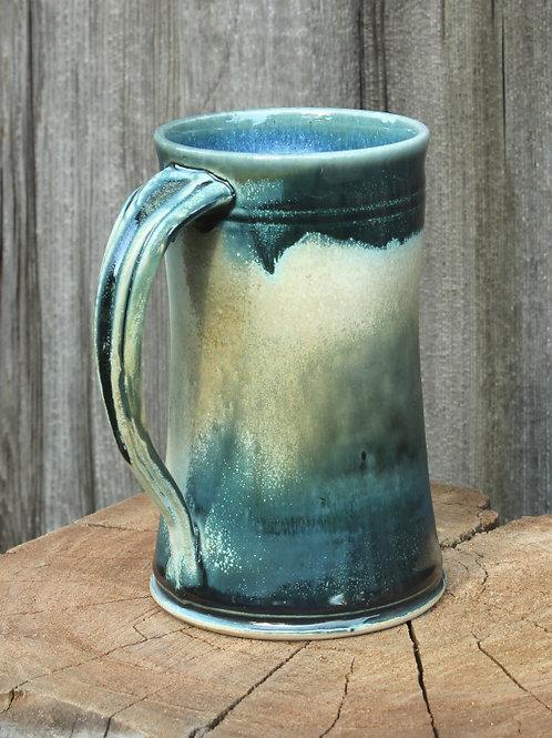 18 oz. stein - white stoneware