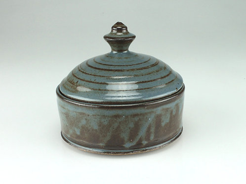 Lidded jar, keepsake - jewelry