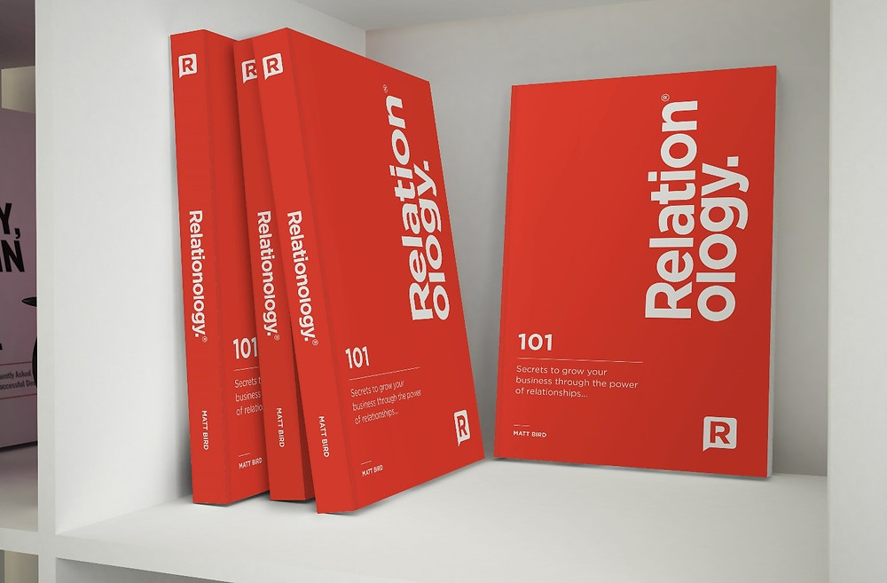 His book 'Relationology: 101 Secrets to grow your business through the power of relationships' is available through Amazon