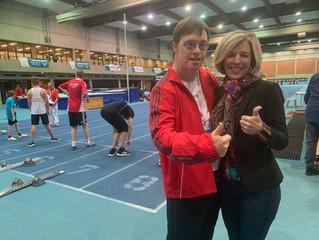 Besuch beim Hallensportfest von Special Olympics Niedersachsen