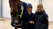 La Caramba wins the Grand Prix in Riesenbeck