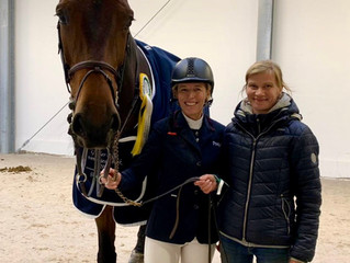 La Caramba wins the Grand Prix in Riesenbeck