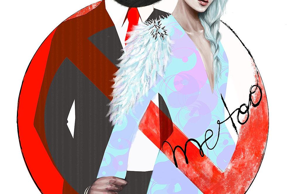 Lámina Ilustrada Edición Limitada 'Me Too'