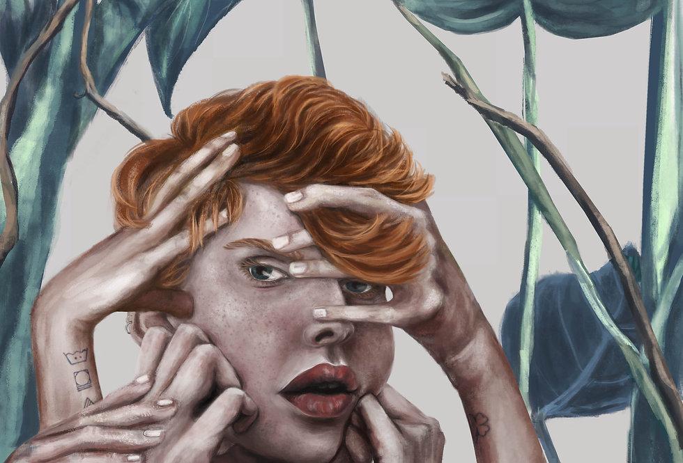 Lámina Ilustrada Edición Limitada 'Me Faltan Manos'