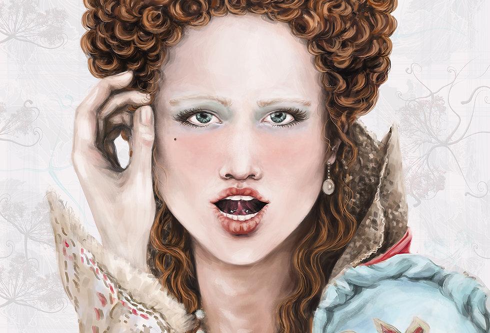 Lámina Ilustrada Edición Limitada 'Elisabeth'