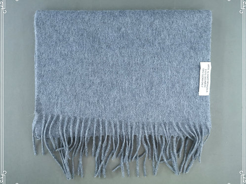 100% Cashmere 35x180cm T. Harmaa