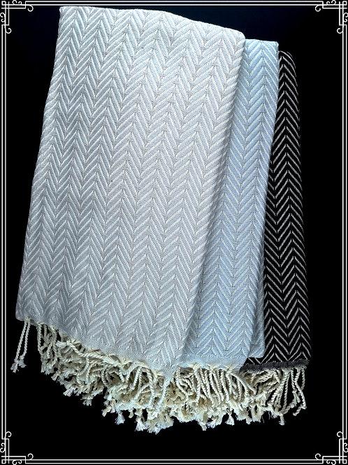 Zigzag hamam-pyyhe 100x185
