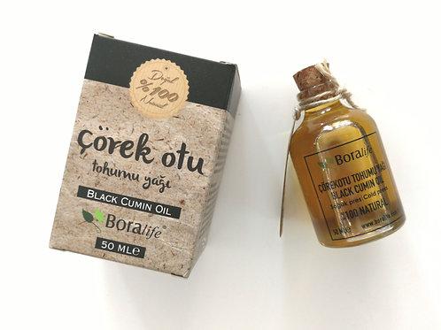 Mustakuminaöljy  100ml    100%organic