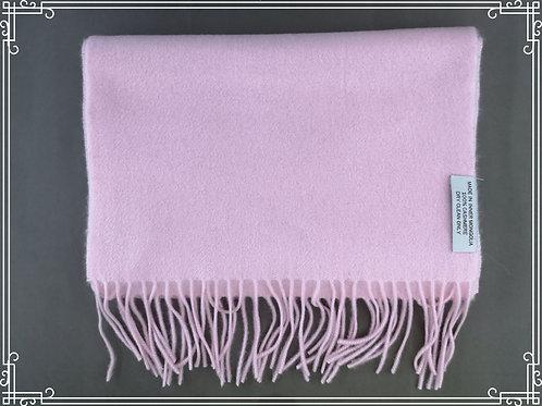 100% Cashmere 35x180cm  Pinkki