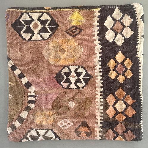 Vintage Kelim tyynynpäällinen 40x40
