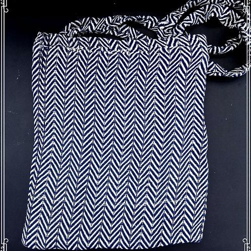 Zigzag Hamam-pyyhe kassi tummansininen